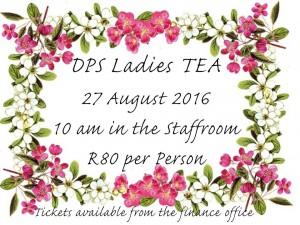 LADIES Tea Invites